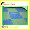 Étage en caoutchouc de gymnastique de couvre-tapis de plancher de gymnastique de Crossfit de matériel de forme physique d'OEM