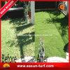 Hierba de alfombra natural del jardín del césped sintetizado de la hierba de Aritificial para el paisaje