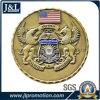 Монетка эмали сплава цинка заливки формы мягкая, конструкция клиента