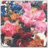 Grosses Blumen-Muster-Polyester 100% gedrucktes Woolen Gewebe