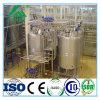 Terminar la leche fresca que hace la cadena de producción de leche de dulce de la botella de cristal