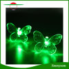 20 da luz impermeável ao ar livre clara solar da decoração do jardim do diodo emissor de luz da borboleta da cor do diodo emissor de luz luzes solares em mudança da corda