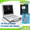 Machine à ultrasons Doppler couleur pour ordinateur portable à prix très avantageux