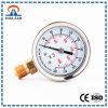 Calibrador de presión llenado líquido profesional del montaje de Digitaces del fabricante