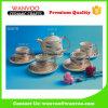Jeu de café en céramique mat promotionnel de thé avec la cuvette et la soucoupe