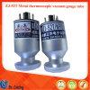 Prezzo di vendita caldo del calibro di vuoto di resistenza di Zj-52t Kf10/16 per la valvola elettronica del metallo della macchina Zj-52t della metallizzazione sotto vuoto