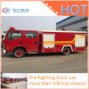 Fire Enquipment Engine Truck 3000liters à 5000liters