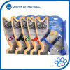 Gato ajustável Nylon Leash Chest Straps Chain Tração Thoracic Dorsal Rope Leash
