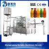 Máquina de rellenar automática llena del zumo de fruta