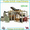 Bloc de brique de la colle de machine de fabrication de la brique Qt4-18 faisant le prix de machine