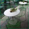 Mesa e banco de piquenique ao ar livre de resina de melamina