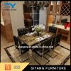 Tabela de jantar de mármore do quadrado chinês da mobília