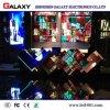 Visualización de pared video creativa suave curvada flexible de interior fija de HD LED para hacer publicidad/las calles comerciales de la decoración, almacenes, hoteles, etapa