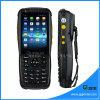Terminale logistico tenuto in mano di posizione di GSM GPRS del Mobile con il lettore di NFC