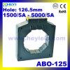 Трансформатор токового трансформатора Abo-125 с точной трансформацией тока с отверстием Преобразователи тока 126,5 мм