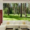 Los murales naturales impermeables más populares de la pared exterior