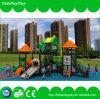 Speelplaats van het Spel van jonge geitjes de Vastgestelde Openlucht met Plastic Dia's