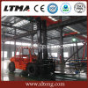 China nombres diesel de la carretilla elevadora de 10 toneladas con la casilla sellada