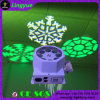 Etapa 8X3w Rotación Efecto Color LED Logotipo Luz
