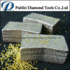 Segmento aglomerado quente da estaca da pedra do produto do diamante da imprensa fria para o disco do granito