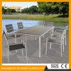 屋外の家具の寄木細工の床のプラスチック木製の椅子表セットを販売する2017の新式の製造業者