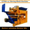Bloco de cimento movente Making Machines para Sale Qtm6-25 Dongyue Machinery Group