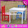 새로운 디자인 유아원 다채로운 나무로 되는 아이 테이블 및 의자 고정되는 W08g223
