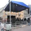 Ферменная конструкция этапа освещения DJ алюминиевого глобального напольного случая сверхмощная