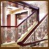 Sistema de trilhos de alumínio grande interior de bronze antigo da escada
