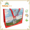 주문을 받아서 만들어진 Non Woven Bag, Advertizement Promotion를 위한 PP Woven Bag