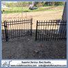 二重振動鉄の塀のゲート