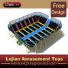 セリウムCertificateとの熱いSale Amusement Park Beds Trampoline