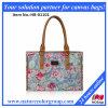 Madame Handbags de mode avec la toile d'impression (HB-011)
