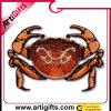 Concevoir la connexion en fonction du client de broderie avec le logo de crabe