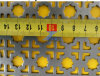 中国の工場製造の穴があいた装飾的な版