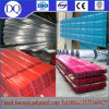 Msterials couvrant ondulé galvanisé 1250/1000 feuille ondulée de toiture de zinc d'embase