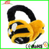 Plüsch Black und Yellow Bumble Bee Earmuff