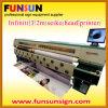 Infiniti 3.2m Wide Format Solvent Printer (testa 8seiko, tracciatore) della tela di canapa (FY-3208R)