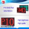Placa do diodo emissor de luz da cor P10 SMD do anúncio ao ar livre de brilho elevado única