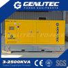 Groupe électrogène diesel double-couple 250kw / 313kVA à démarrage autonome