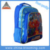 Backpack книги студента шаржа мальчика назад к мешку школы