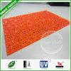 Scheda impressa diamante arancione del PC di Lexan dei fornitori del policarbonato della Cina