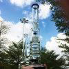 Groß filternkugel-schwarzes rauchendes Wasser-Glasrohr (ES-GB-608) verdicken