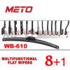 Лезвие счищателя оптового многофункционального всеобщего автоматического Windscreen плоское (WB-610)