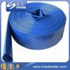 Положенный PVC плоский шланг разрядки для сельскохозяйствення угодье