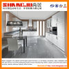 Olá! Gloss Cream Kitchen Cabinet para Sale