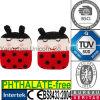 Tourmaline vulde het Gebreide Lieveheersbeestje van het Stuk speelgoed van de Hitte van de Microgolf