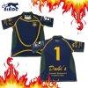 Chemises faites sur commande du Jersey de rugby de bonne exécution de qualité