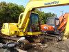 Excavatrice utilisée PC60-7 de chenille de KOMATSU
