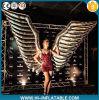 Heißer verkaufenCreactive Partei-Leistungs-aufblasbarer Kostüm-Silber-Flügel